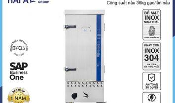 Tủ Nấu Cơm Công Nghiệp Hải Âu HAG 12 – Gas 12 Khay