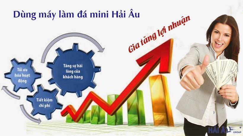 lợi ích của máy làm đá mini giúp gia tăng lợi nhuận