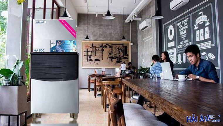 máy làm đá kinh doanh nhà hàng