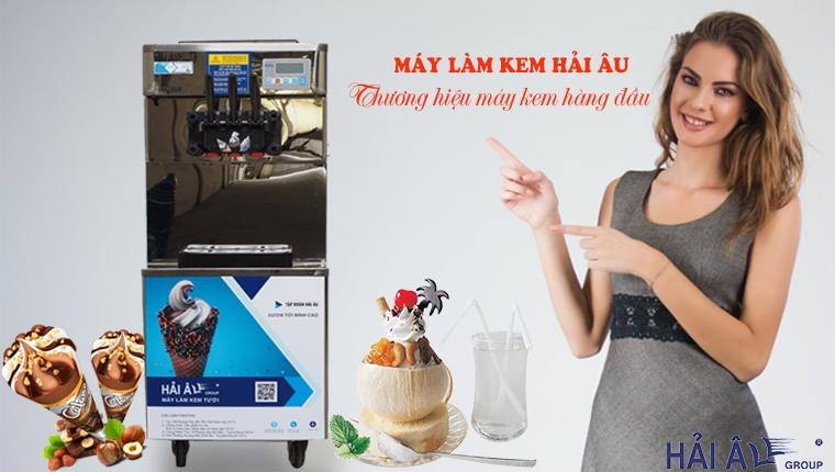 Máy làm kem hải âu thương hiệu hàng đầu