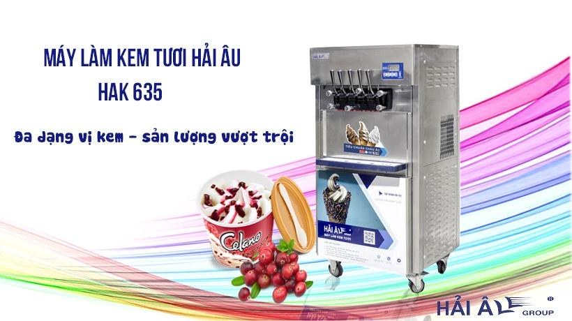 máy làm kem hak 635