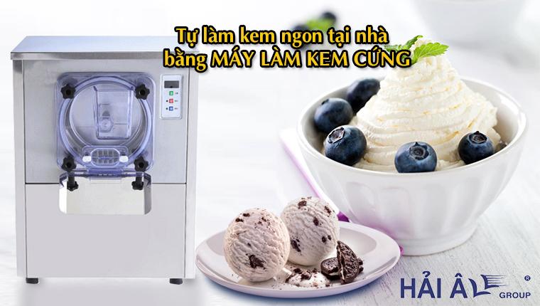 Làm kem ngon tại nhà