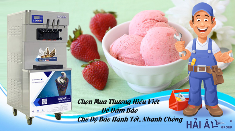 Mau máy thương hiệu Việt
