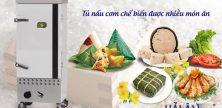 Tủ nấu cơm chế biến món ăn