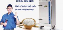 Tủ nấu cơm điện an toàn