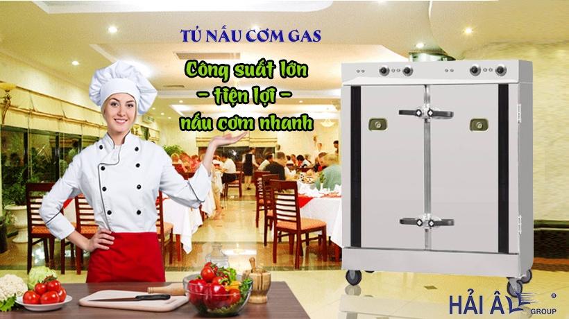 Tủ nấu cơm gas công nghiệp