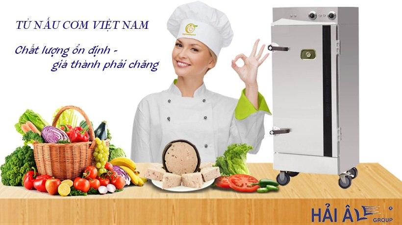 Tủ nấu cơm thương hiệu Việt