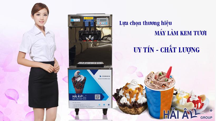 Chọn thương hiệu máy kem tốt