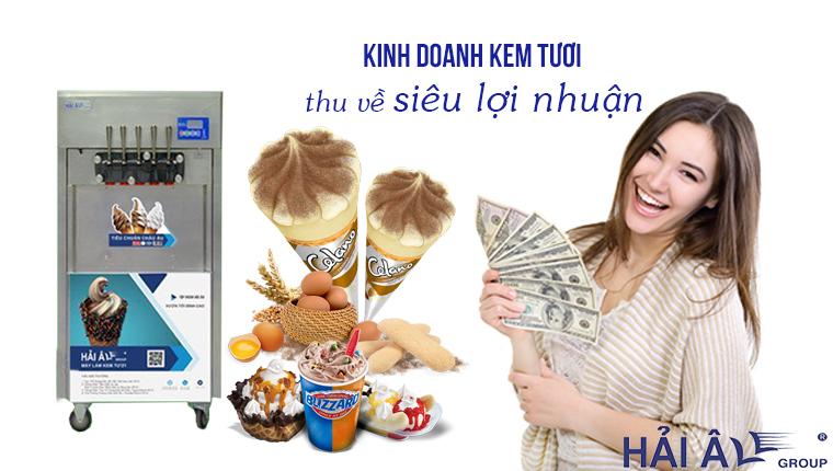Kinh doanh kem