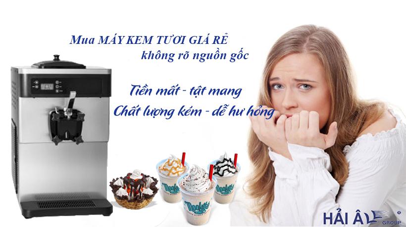 Mua máy kem tươi giá rẻ