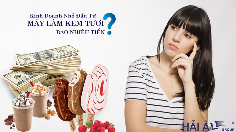Đầu tư máy kem tươi cho kinh doanh