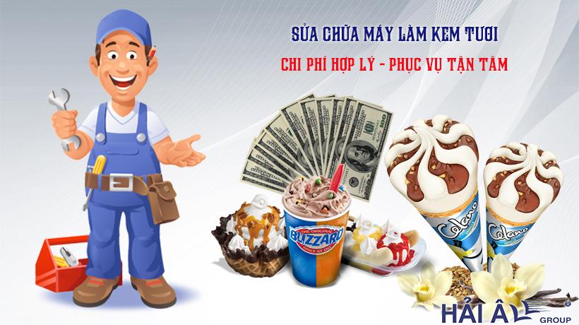 Dịch vụ sửa máy kem