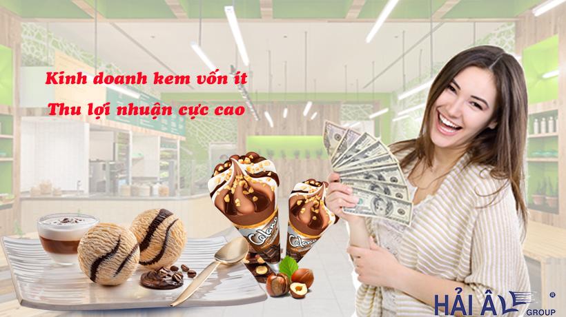 Kinh doanh kem vốn ít