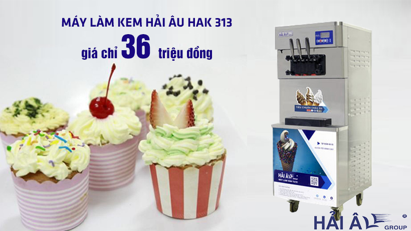 Máy kem hải âu HAK 313