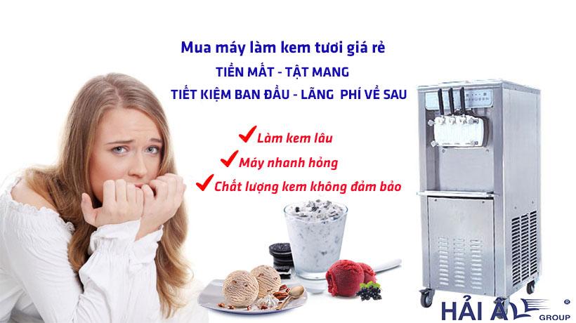 Máy kem tươi giá rẻ