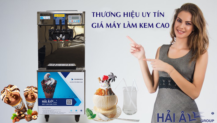 Thương hiệu máy kem uy tín