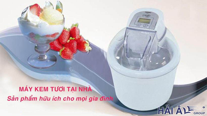 Máy kem tươi tại nhà