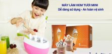 máy kem tươi mini dễ sử dụng