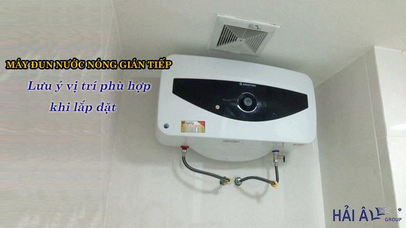 Lắp đặt máy đun nước nóng gián tiếp cần lưu ý gì