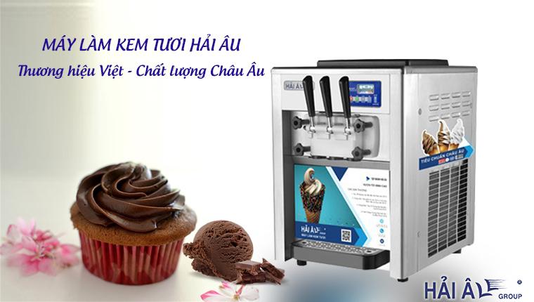 Máy làm kem thương hiệu Việt