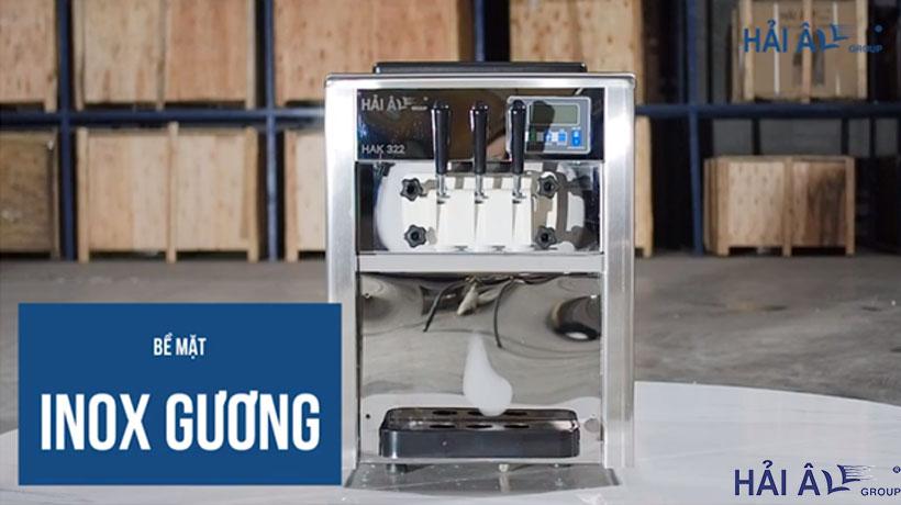 Mổ xẻ cấu tạo máy làm kem