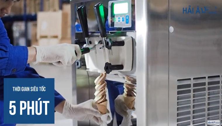 Mổ xẻ nguyên lý làm việc của máy kem