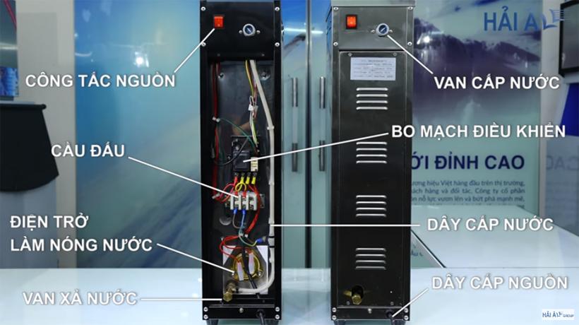 Nhwungx đặc điểm nổi bật của máy đun nước nóng trực tiếp