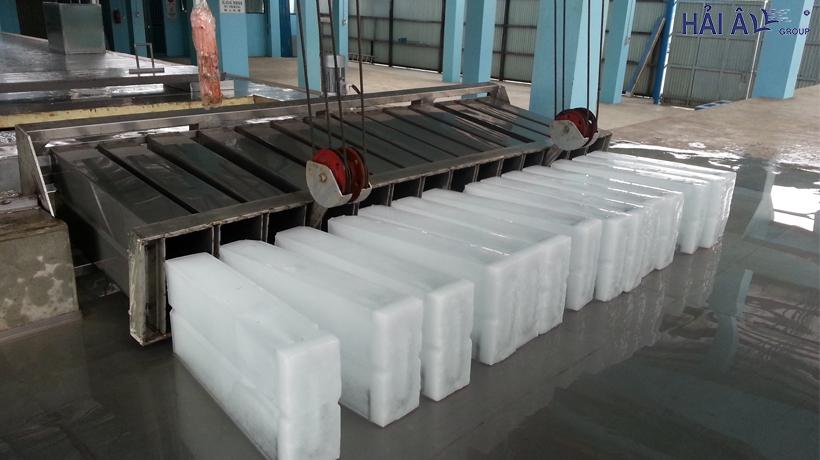 Quy trình sản xuất đá cây