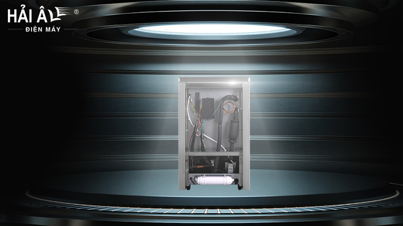 thiết kế máy làm đá viên công suất nhỏ ha30p