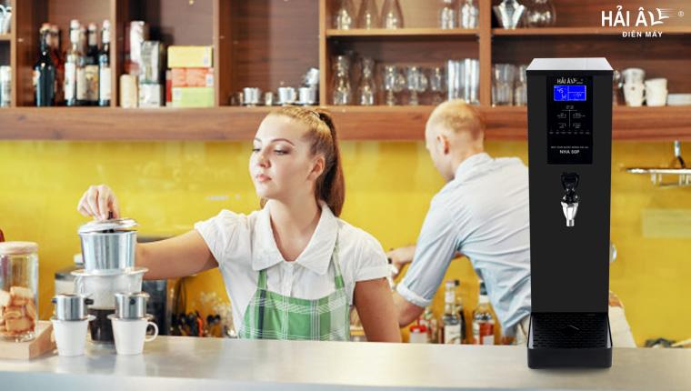 máy đun nước nóng cao cấp kinh doanh cafe