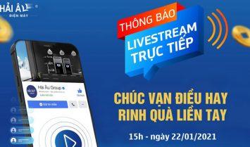 livestream tháng 1 - 2021