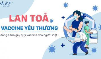 điện máy hải âu góp quỹ vacxin